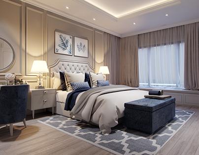 The Tresor apartment _Ho Chi Minh city Master bedroom