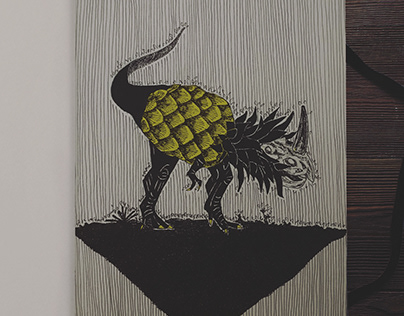 Pineasaurus...simply rawrsome!!