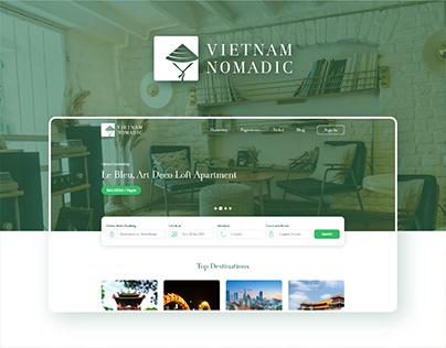 Vietnam Nomadic - Booking / Travel Website