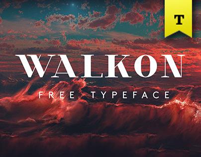 WalkOn - Typeface