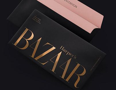 Harper's Bazaar rebranding concept