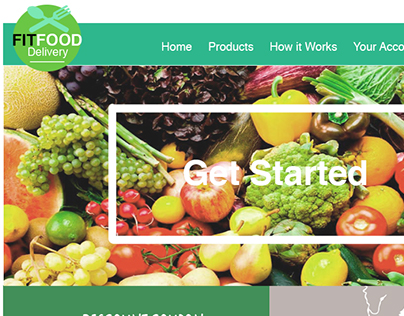 Web Design: FitFood Project