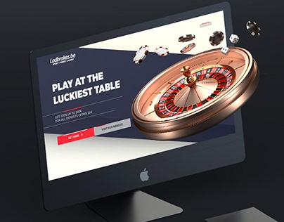 Ladbrokes - roulette landing page concept