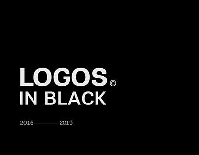 Selected logos in black 2016-2019