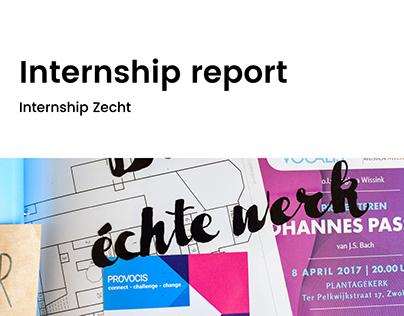 Internship report   Zecht
