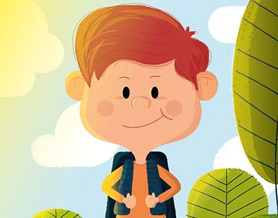 Tim, el niño explorador