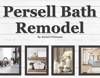 Persell Bath Remodel