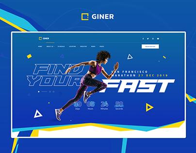 Giner | Multi-Concept Event WordPress Theme