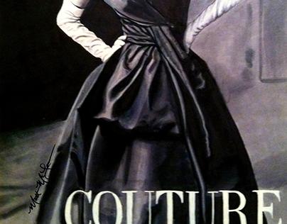 Marker Drawing Magazine Ad