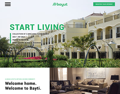 Bayti | Real Estate Web Design