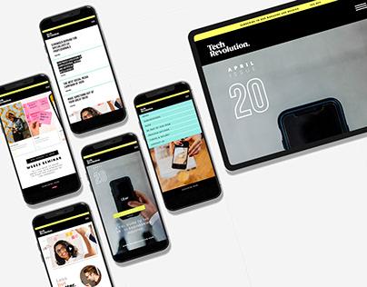 Tech Revolution - Mobile App