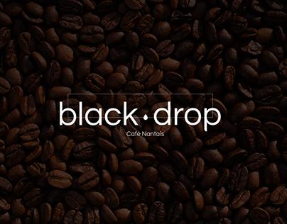 Black drop - Coffee shop concept