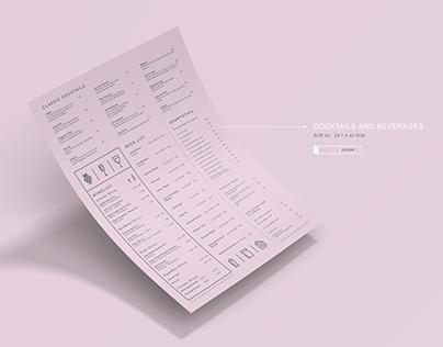 Couleur Locale WS20 - Menu Catalogue