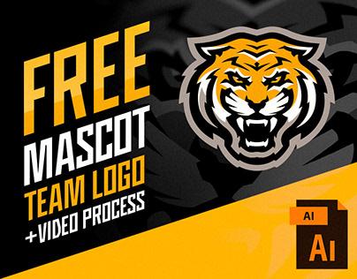 Free tiger mascot