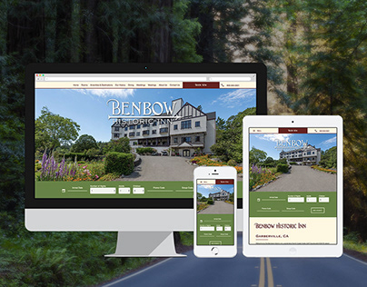 Website Design & Development: Benbow Historic Inn