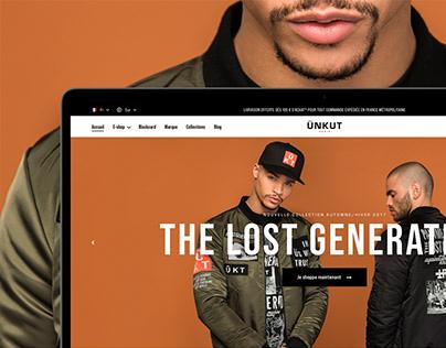 Unkut — Webdesign