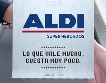 ALDI · Campaña lanzamiento