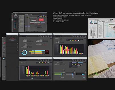 Prime Focus – Interaction Design Software Prototype