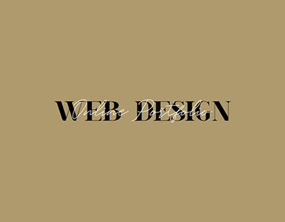 Web Design (My Portfolio)