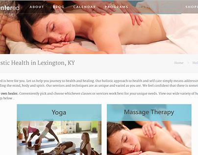 Yoga Studio Website (Wordpress)