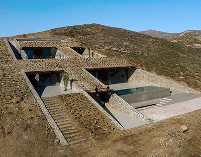 nCAVED House in Greece by Mold Architects