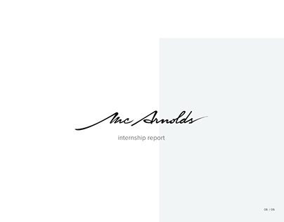McArnolds agency | Intern Report