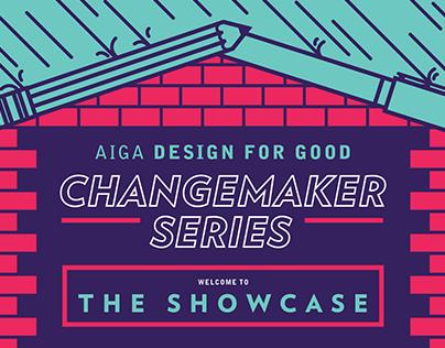 AIGA Changemaker Series Marketing