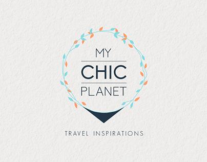 MY CHIC PLANET   Branding   Logo