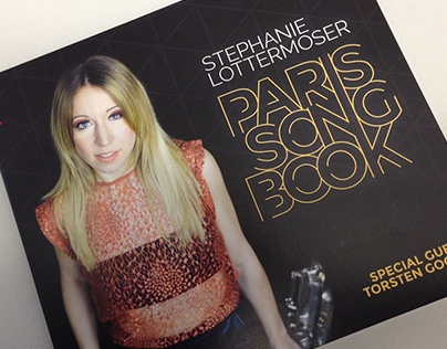 Stephanie Lottermoser - Paris Songbook - Album Cover