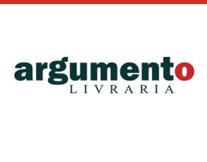 Site da Livraria Argumento