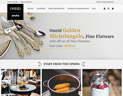 Oneid - Concept Magento 2 Design