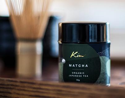 Kin Tea Brand Identity