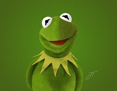 Kermit the Frog - Digital Illustration
