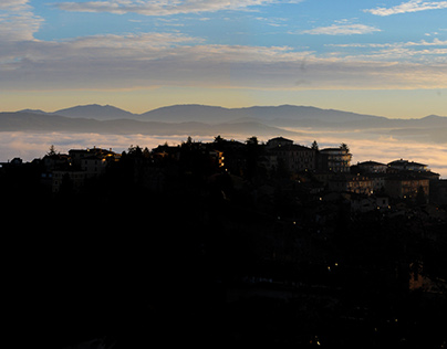 View from Porta Sole - Perugia