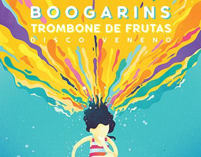 Boogarins / gig poster