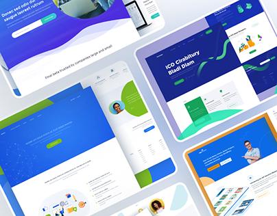 Website Interfaces Design v.2