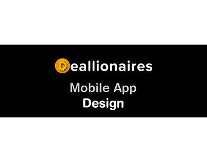 Deallionaires Mobile App Design