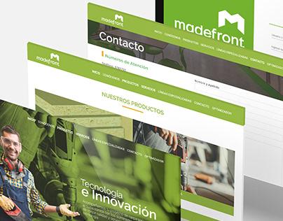 Web Corporativa   Madefront