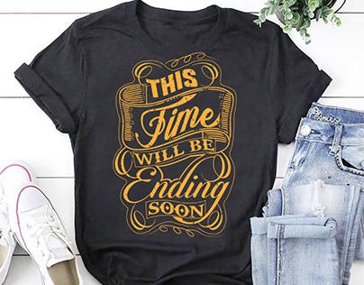 Typography T shirt Design