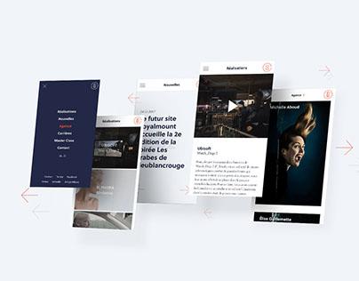 Bleublancrouge Website