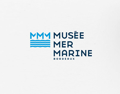 Musée Mer Marine - Branding
