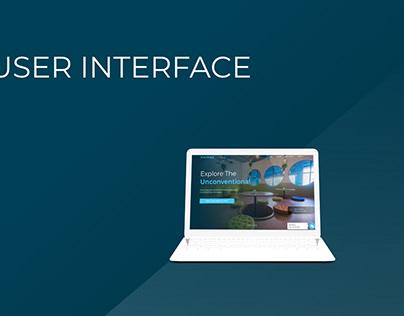 UI Design for myHQ Website (myhq.in)
