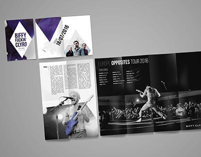 Flyer/Fanzine desplegable
