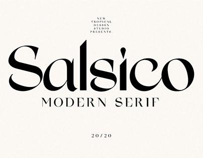 Salsico - Modern Font