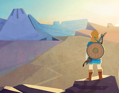 Zelda Breath Of The Wild Fan Art