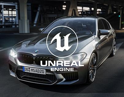 BMW M5 - Unreal Engine 4 RTX ON