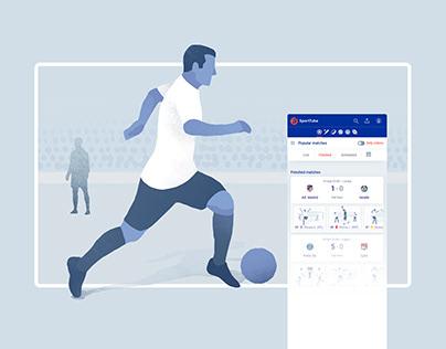 Sport UI Illustrations