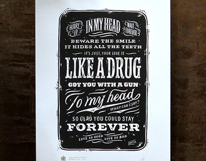 Serigrafías «Like a Drug»