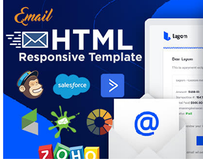 Design an HTML email template or newsletter