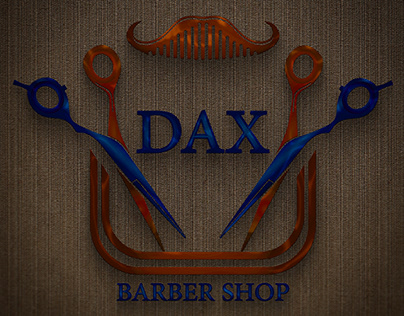 New Logo For DAX Barber Shop